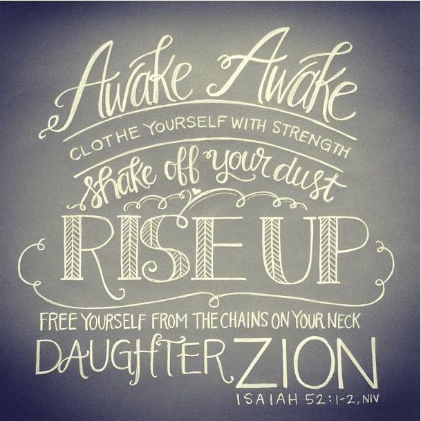 Arise Daughter
