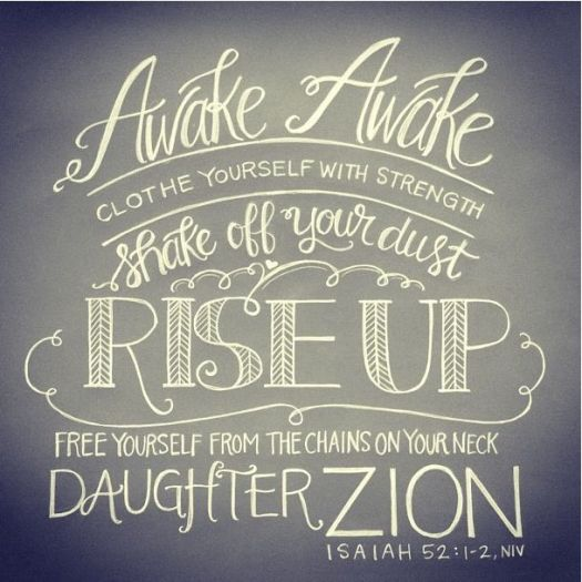 Arise Daughter
